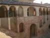 Il cortile interno della rocca di Agazzano