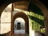 L\'ingresso della rocca del castello di Agazzano