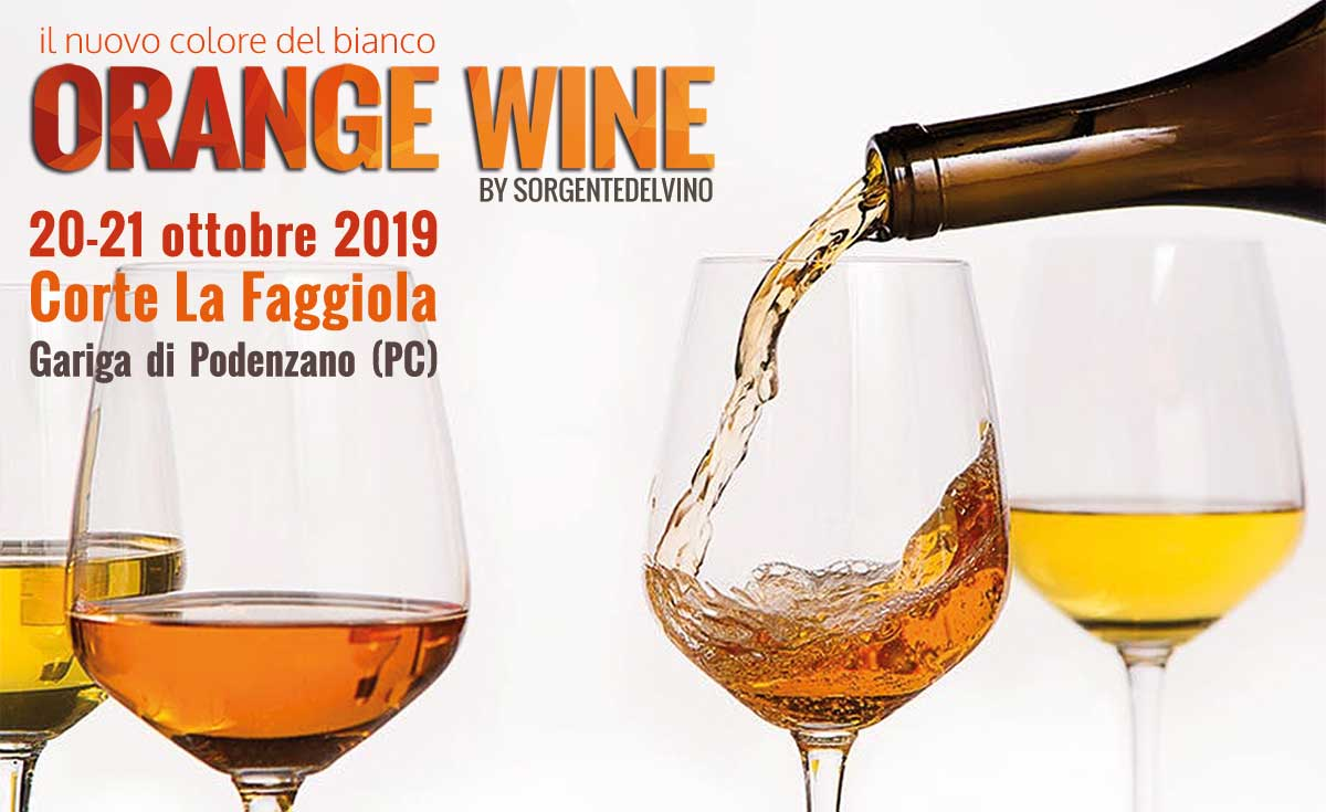 Orange Wine fair in Piacenza
